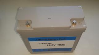 Акумулятор LiFePO4 12,8 v 18ah