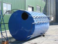 Аспірація, вентиляція, пневмотранспорт, металоконструкції