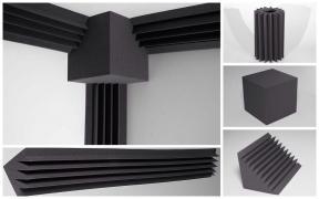 Бас пастки, акустичні панелі, акустичні матеріали установ