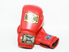 Боксерські рукавички 10ун з печаткою ФБУ червоні