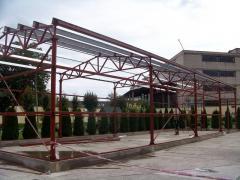 Будівлі з металоконструкцій. Монтаж металоконструкцій