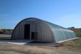 Будівництво безкаркасних арочних ангарів «під ключ»
