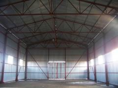Будівництво швидкомонтованих споруд. Монтаж металоконструкцій