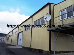 Будівництво складів, виробничо-складських приміщень