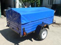 Buy a single axle trailer at a super price! Installment plan! Stock