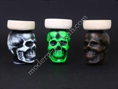 Чаші для кальяну у вигляді черепа в наявності