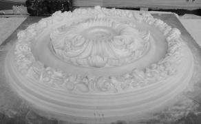 Декоративна розетка Р. 601 діаметр 600 мм