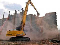 Демонтаж і розбирання будівель та споруд