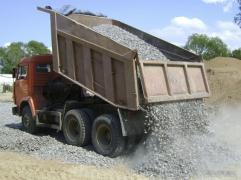 Доставка будівельних матеріалів,грунт,щебінь,пісок і тд