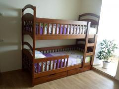 Двох'ярусне дитяче ліжко Карина, розбірна, якісно