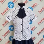 Дитяча шкільна блузка оптом на дівчинку