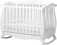 Дитяче ліжечко Baby Italia Andrea VIP колір білий
