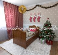 Дитяче ліжко Малятко з натурального дерева