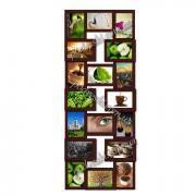 Фоторамка-колаж з дерева та МДФ з написами