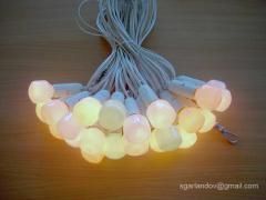 Гірлянди з різнокольоровими лампами для свят, в оренду