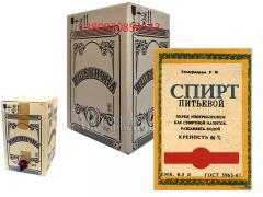 Горілка пшенична 10 л, Львівський завод