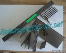 Graphite plates, blades, shovels, lamellas for vacuum pumps