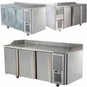 Холодильні та морозильні столи Polair на 2, 3 і 4 двері