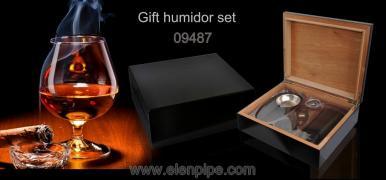 Хьюмідори подарункові з набором для сигар опт Elenpipe