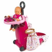 Ігровий набір Розкладний валізу Baby Nurse Smoby