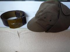 кепка-афганка, пілотка, речовий мішок, ремінь, форма срср