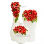 Керамічні вази колекція Маковий букет