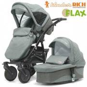 Коляска універсальна Kinder RICH Fox Flax