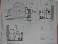 Креслення для виготовлення ударно-механічного преса