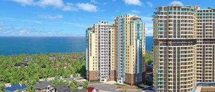 Купіть шикарну квартиру з прямим видом на море