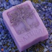 "Lavender soap handmade natural, ""the Factory of Silence"""