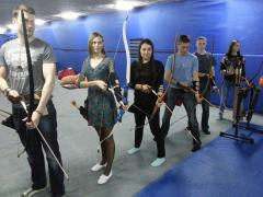 """Лучний тир """"Лучник"""", Стрільба з лука - Archery Київ (Оболонь, Т"""