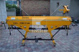 Листозгинальний верстат модельного ряду Sorex. Серія: ZGR-2160