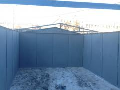 Metal garage steel 2.0 mm