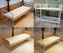 Металева ліжко. Ліжка двоярусні
