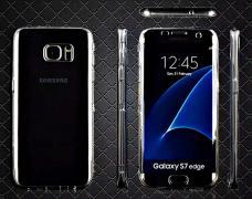 М'який, прозорий чохол з двох частин для Samsung S7/S7