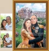 Намалювати портрет в Києві. Намалювати портрет з фотографії До