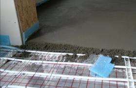 Напівсуха стяжка підлоги в Дніпропетровській області