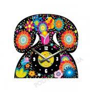 Настінні годинники на полотні акрилові Glozis