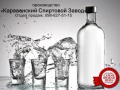 НЕ ПРОПУСТИ! - Спирт харчової 96,6%, Горілка 40%
