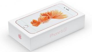 Новий IPhone 6s