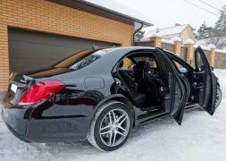 Оренда авто з водієм у Мінську. Mercedes W222