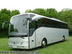 Оренда автобуса Мерседес на 50 місць, перевезення пасажирів Київ