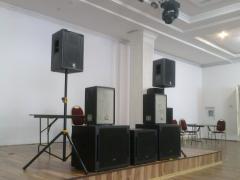 Оренда звуку , сцени , світлового обладнання в Одесі