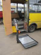 Переобладнання автоььусов для перевезення інвалідів