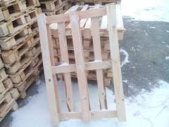 Піддон дерев'яний, новий, 1200 * 800, 700кг, настил - 5 дощок
