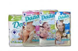 """Підгузки """"Dada Premium Extra Soft"""" оптом Польща"""