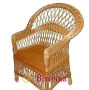 Плетені меблі з лози