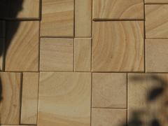 Плитка пиляна з природного каменю пісковику
