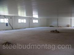 Побудувати складські приміщення з металоконструкцій