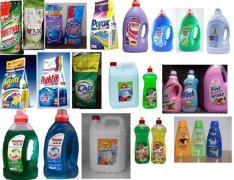 Побутова хімія з ЄС – пральні порошки, засоби гігієни